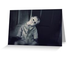 Anjelica the Neglected Doll Greeting Card