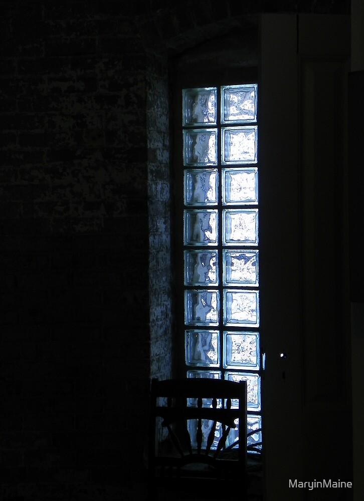 Narrow Lighthouse Window by MaryinMaine