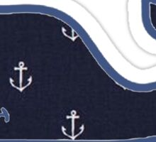 Vineyard Vines Anchor Pattern Sticker