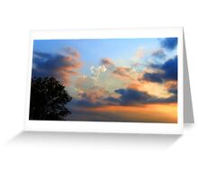 RUSTED SKY Greeting Card