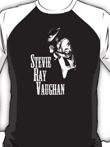 Stevie Ray Vaughan Mens Cotton Black T-Shirt T-Shirt
