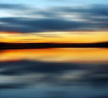 Lake Night by David Alexander Elder