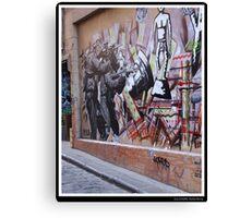 Guns of Graffiti Canvas Print