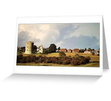 Hadleigh castle, Essex Greeting Card