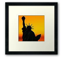 Liberty Dawn Framed Print