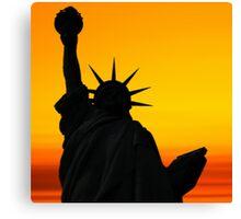 Liberty Dawn Canvas Print