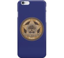 Once Upon a Time - Storybrooke Sheriff's Dept. iPhone Case/Skin