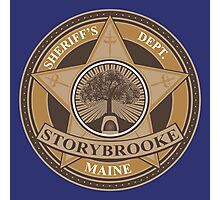 Once Upon a Time - Storybrooke Sheriff's Dept. Photographic Print