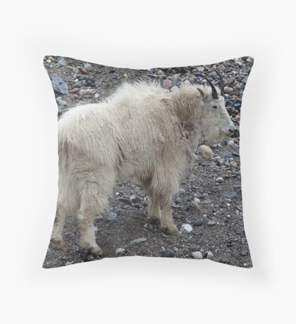 Getting My Goat! Throw Pillow