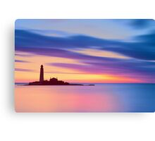 Lighthouse Dusk Canvas Print