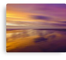 Lilac Evening Canvas Print