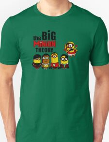 The big bang theory funny Minion tee T-Shirt