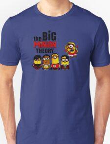 The big bang theory funny Minion tee T-Shirt