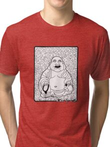 Roar Spirit Buddha Tri-blend T-Shirt