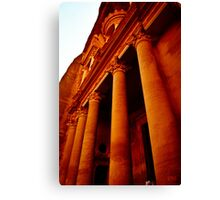 Carved Building Canvas Print