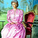 portrait of Lady Diana by Hidemi Tada