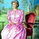 portrait of Lady Diana by Hidemi Tada