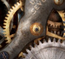Steampunk - Gears - Horology Sticker