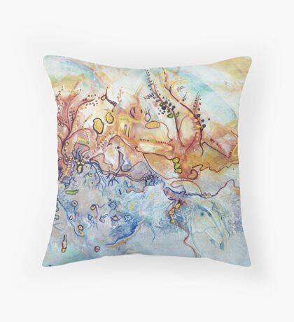 Outback Creek Throw Pillow