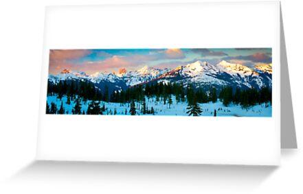 Border Peaks by Inge Johnsson