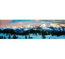 Border Peaks Photographic Print
