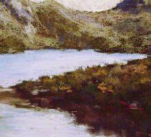 Dove Lake, Cradle Mountain, Tasmania Sticker