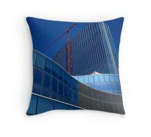 SKYSCRAPER going up! ^ Throw Pillow