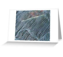 window screen Greeting Card