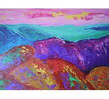 Landscape-Scotland mountains Photographic Print