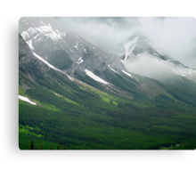 Misty Mountain Realm Canvas Print