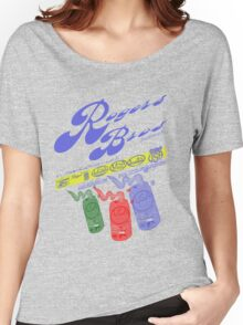 usa new york logos for rogers bros Women's Relaxed Fit T-Shirt