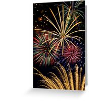 Spectacular Pyrotechnic Display Greeting Card