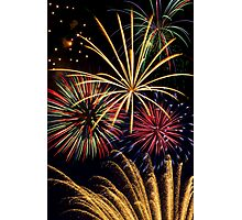 Spectacular Pyrotechnic Display Photographic Print