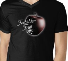 Forbidden Fruit Mens V-Neck T-Shirt