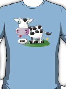 """Put the """"ow"""" in """"Cow"""" T-Shirt"""