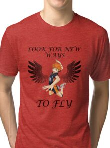 Look For New Ways To Fly Tri-blend T-Shirt