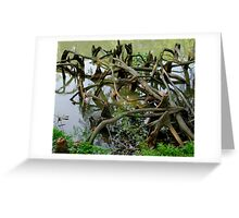 Twisted Roots Greeting Card