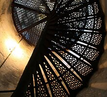 Lighthouse stair case by Maria Masse