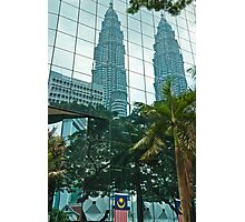 Reflecting Towers Photographic Print