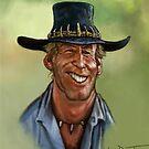 Crocodile Dundee  by Wayne Dowsent