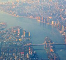 New York from the Air  (2012) Sticker