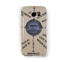 Compass Rose Samsung Galaxy Case/Skin
