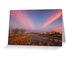 Tafelkop Twilight Greeting Card