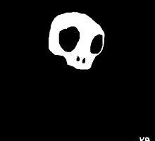 """Monday Skull"" by Richard F. Yates by richardfyates"