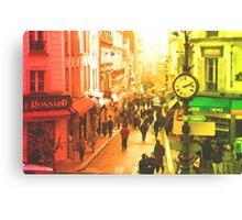 MONTMARTRE-PARIS Canvas Print