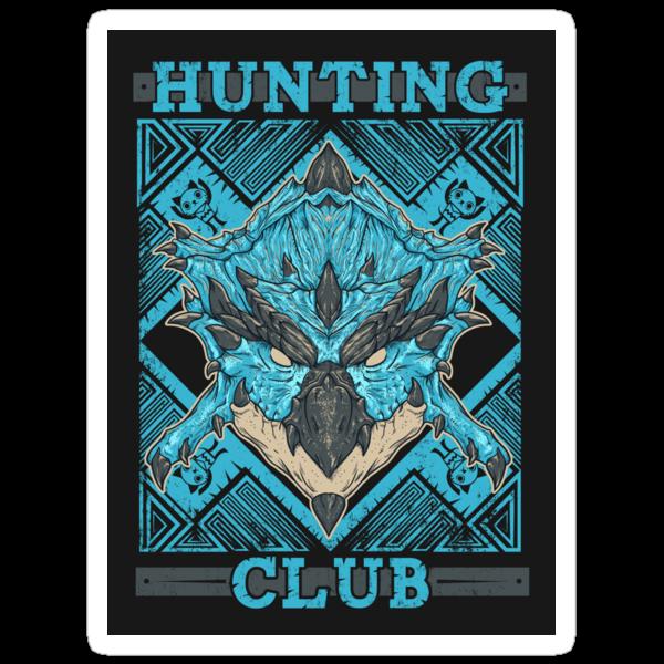 Hunting Club: Azure Rathalos by MeleeNinja