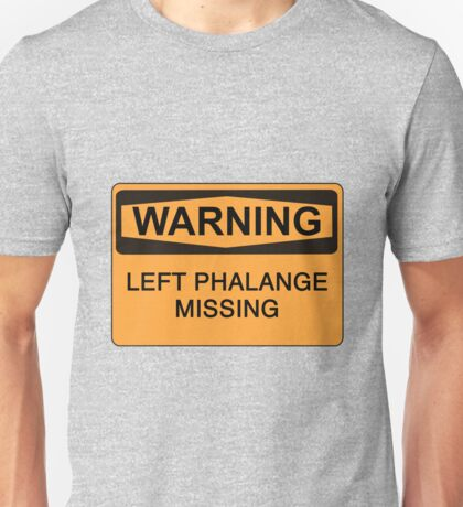 Left Phalange Unisex T-Shirt