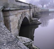 Ross Bridge on a Misty Morning by Wendy Dyer
