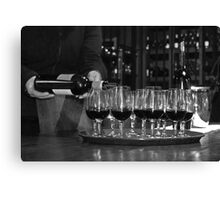 Cable Bay Wine Tasting Canvas Print