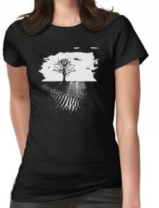 Solitary Womens Fitted T-Shirt